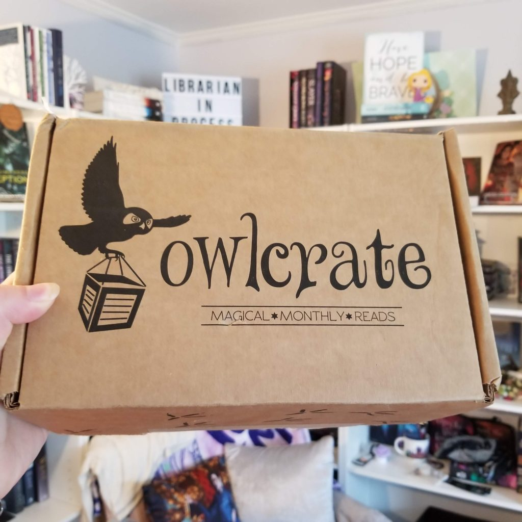image of an owlcrate box